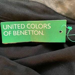 United Colors Of Benetton Bags - NWT Italian Faux Fur Boho Distressed Large Purse
